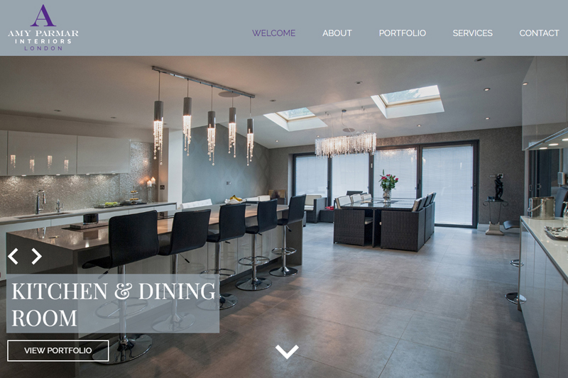 amy parmar interior design london website